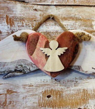 Anielskie skrzydła zawieszka na ścianę