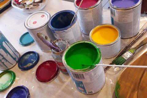 Farby akrylowe tikkurilla
